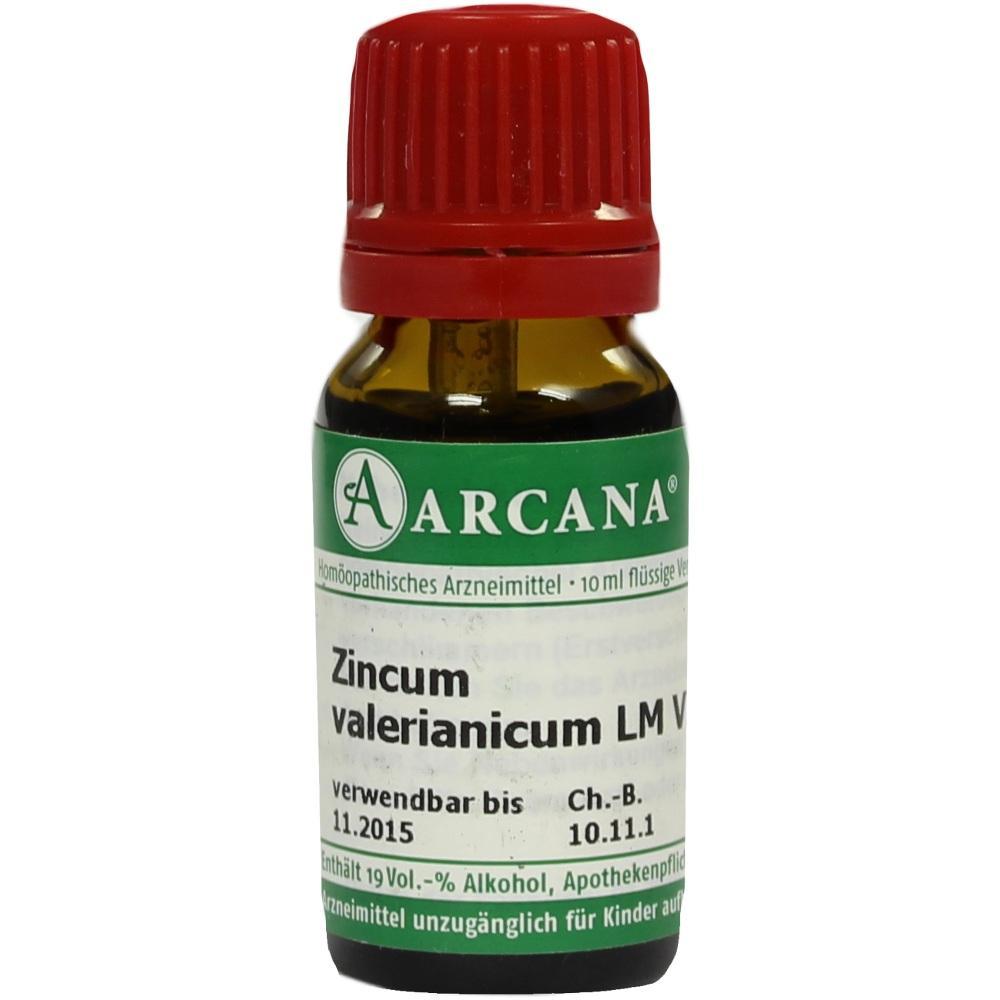 03503032, ZINCUM VALERIAN ARCA LM 6, 10 ML