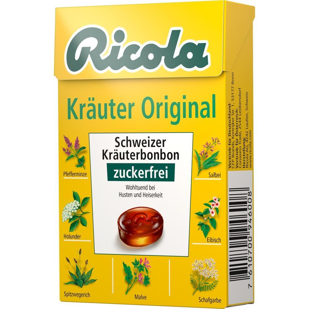 03648776, Ricola oZ Box Kräuter, 50 G