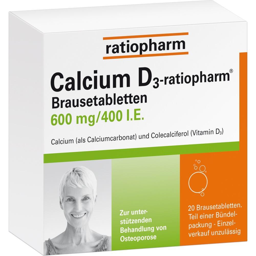 03659751, Calcium D3-ratiopharm Brausetabletten, 100 ST