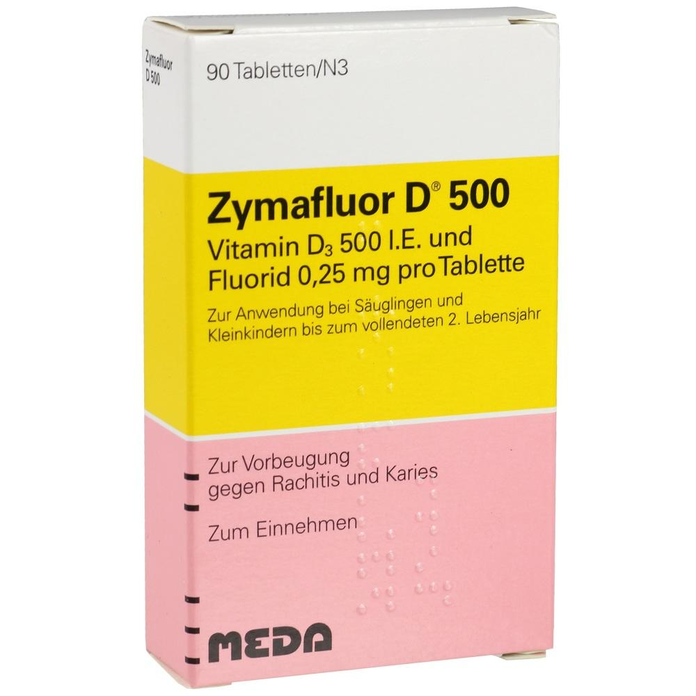 03665071, ZYMAFLUOR D 500, 90 ST