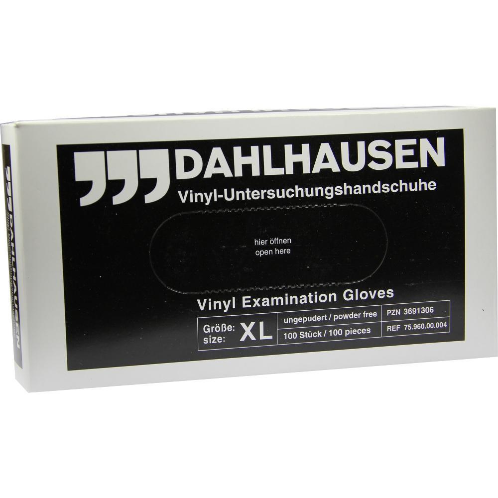 P. J. Dahlhausen & Co. GmbH VINYL Handschuhe ungepudert Gr.XL 03691306