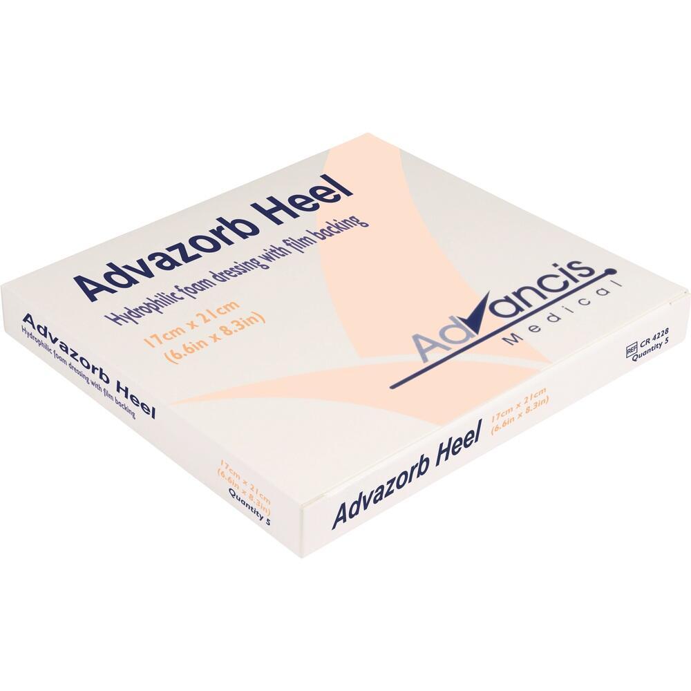 03723791, Advazorb Heel 17x21cm, 5 ST
