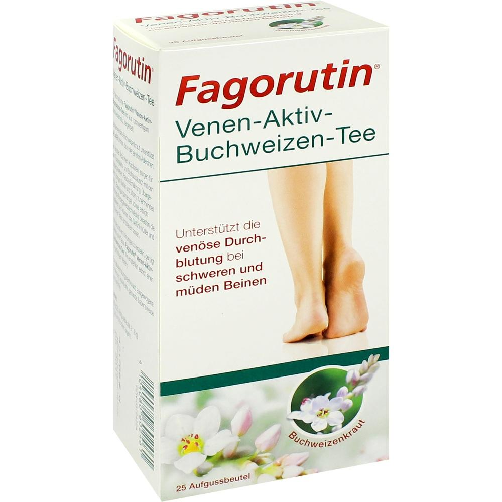 03724224, Fagorutin Venen-Aktiv-Buchweizen-Tee, 25 ST