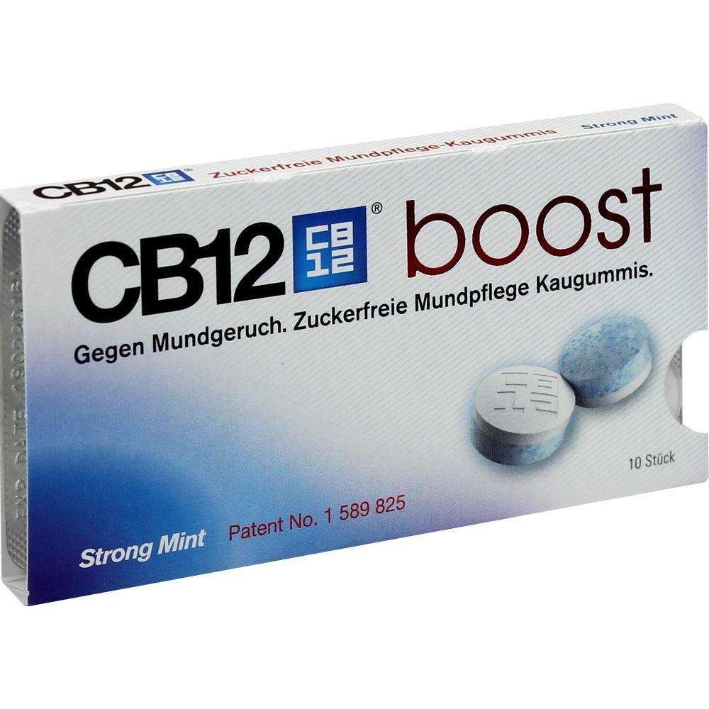 03725873, CB12 Boost Kaugummi, 10 ST