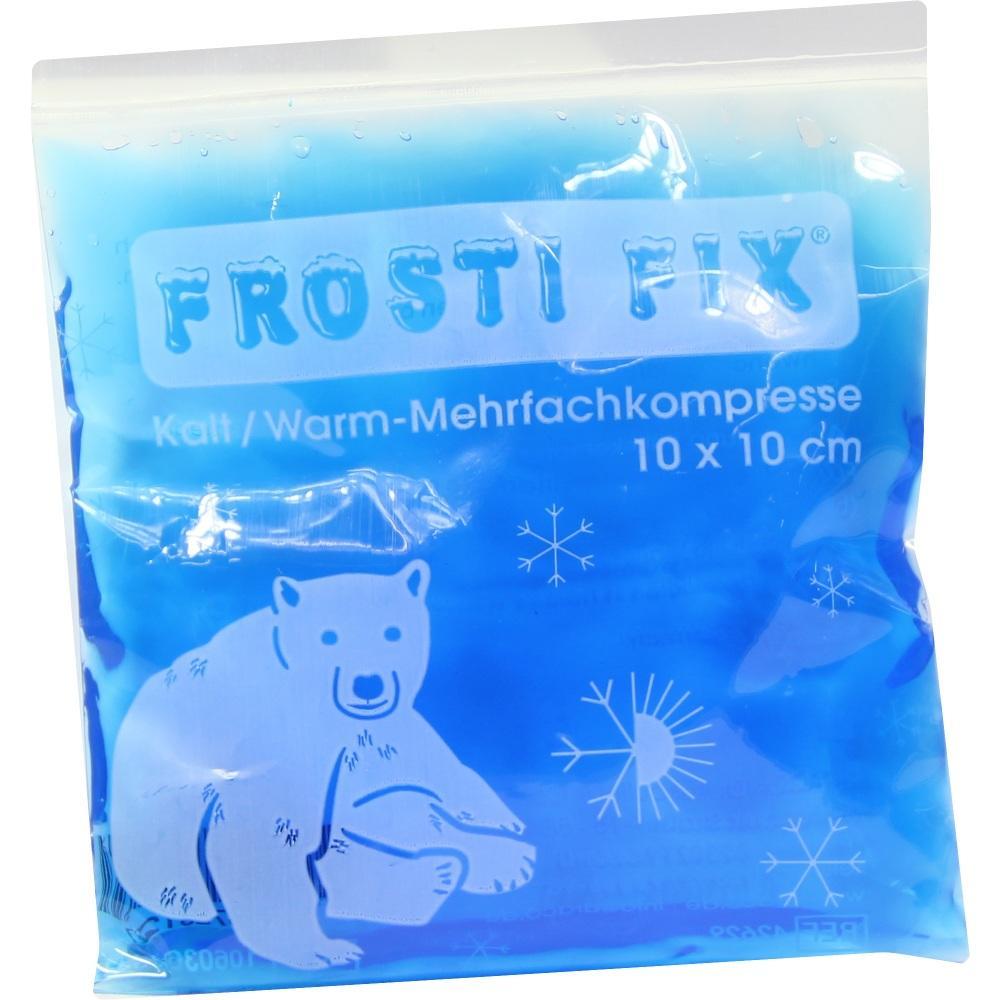 03728127, Kalt-Warm Kompresse 10x10cm blau Frosti Fix, 1 ST