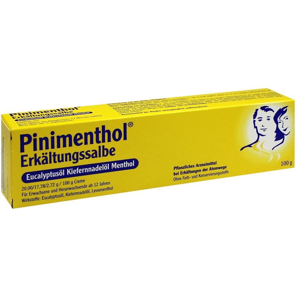 03745309, PINIMENTHOL Erk.Salbe Eucalyptus Kiefernnad.Mentho, 100 G