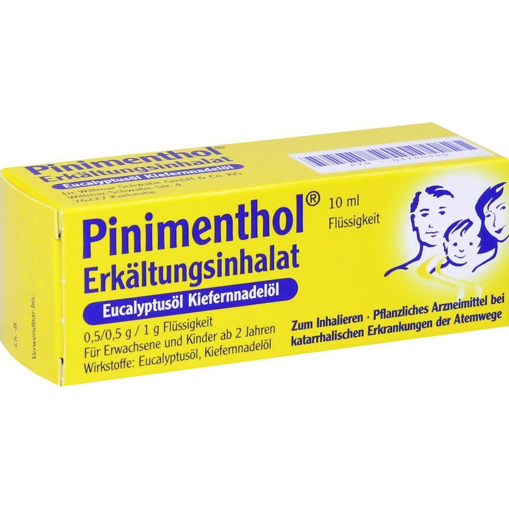 03745350, PINIMENTHOL Erk.Inhalat Eucalyptus Kiefernnadel, 10 ML