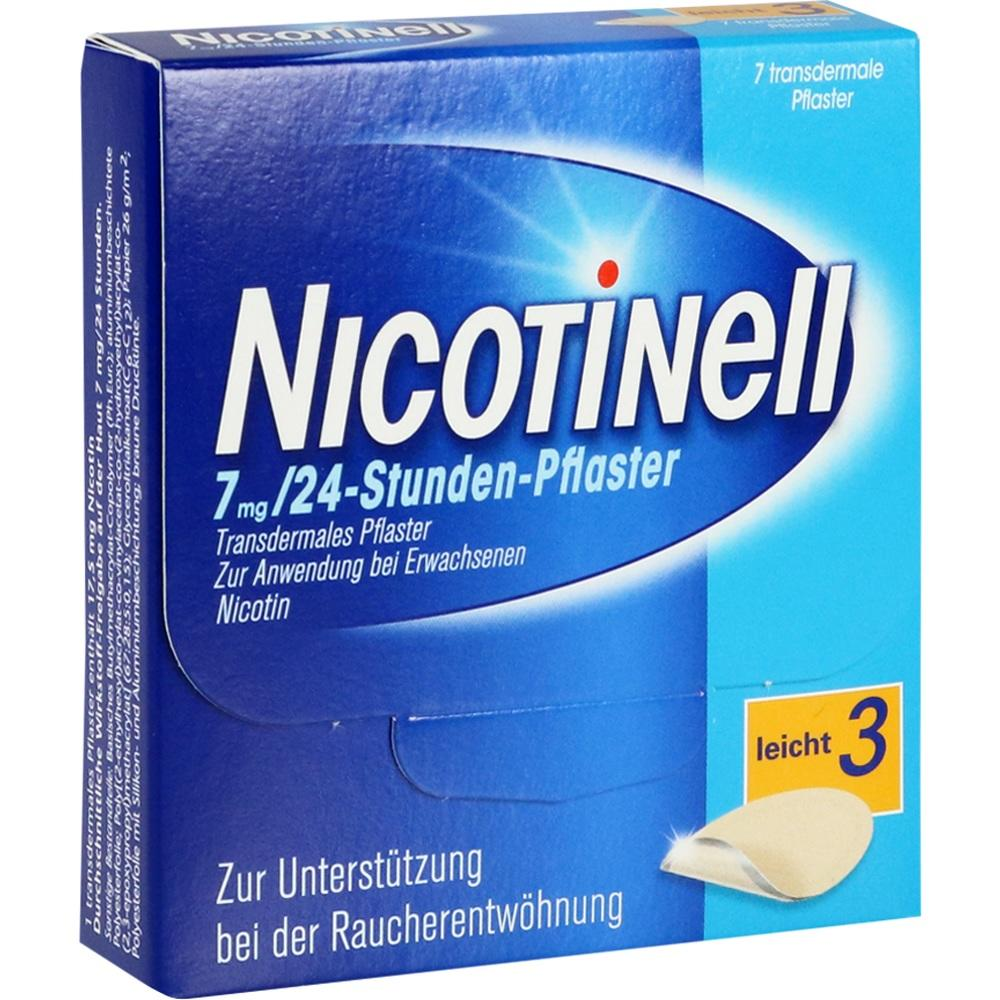 03764502, Nicotinell 7 mg / 24-Stunden-Pflaster, 7 ST