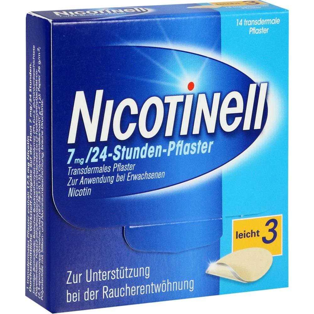 03764519, Nicotinell 7 mg / 24-Stunden-Pflaster, 14 ST