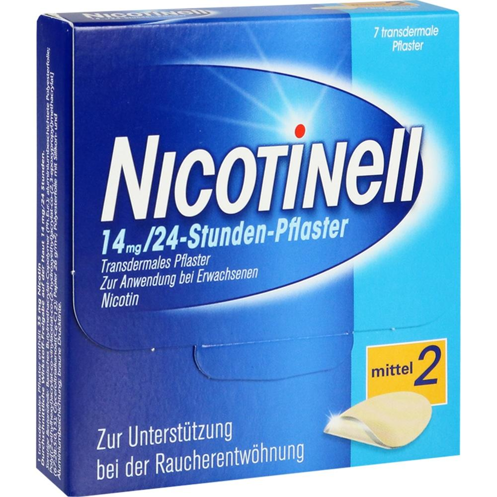 03764531, Nicotinell 14 mg / 24-Stunden-Pflaster, 7 ST