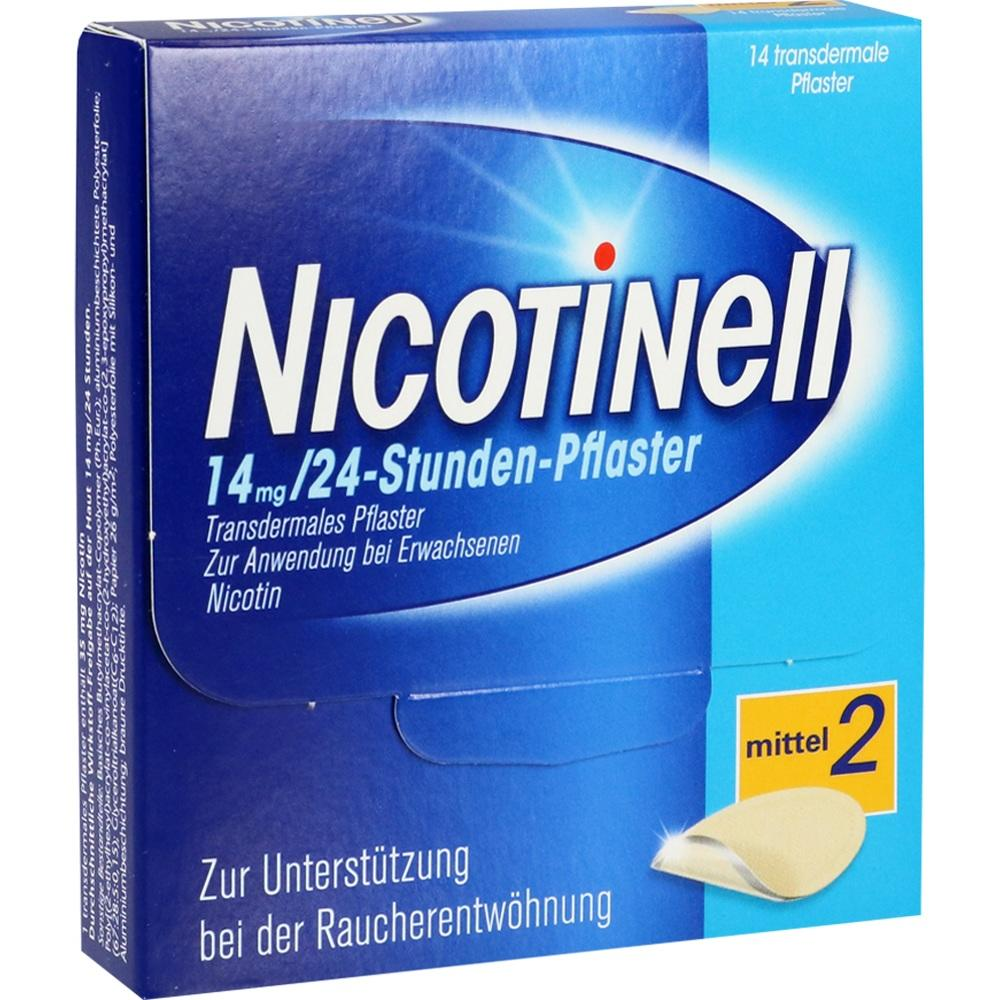 03764548, Nicotinell 14 mg / 24-Stunden-Pflaster, 14 ST