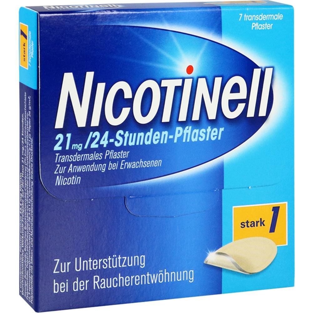 03764560, Nicotinell 21 mg / 24-Stunden-Pflaster, 7 ST