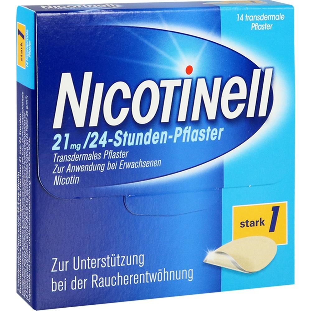 03764577, Nicotinell 21 mg / 24-Stunden-Pflaster, 14 ST