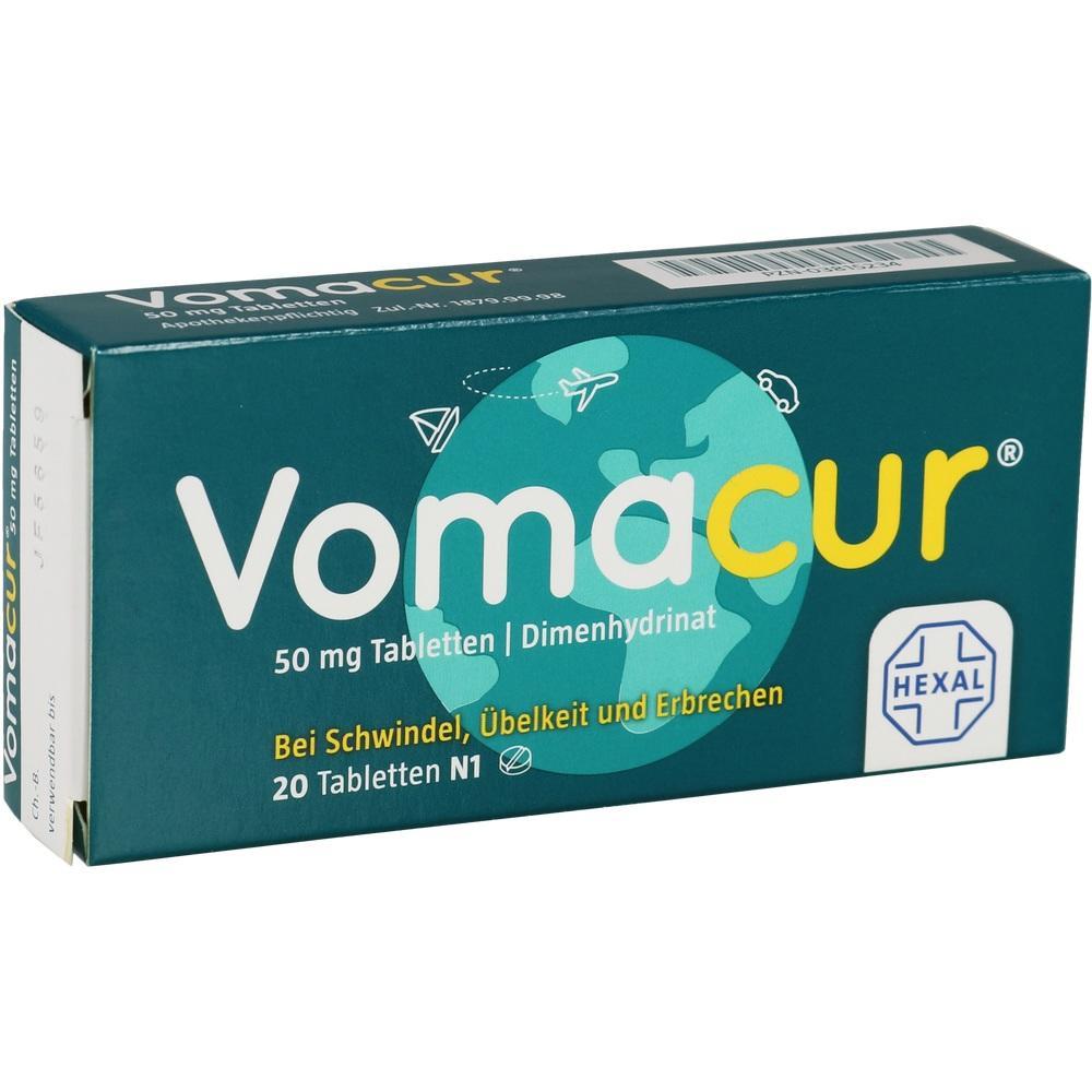 03815234, VOMACUR Tabletten, 20 ST