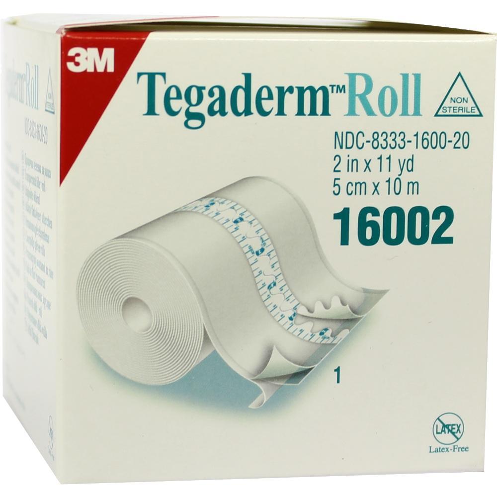 03816506, Tegaderm 3M Rolle 5cmx10m, 1 ST