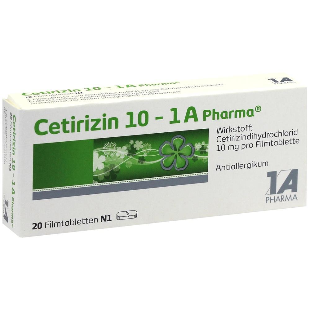 03823570, Cetirizin 10 - 1 A Pharma, 20 ST