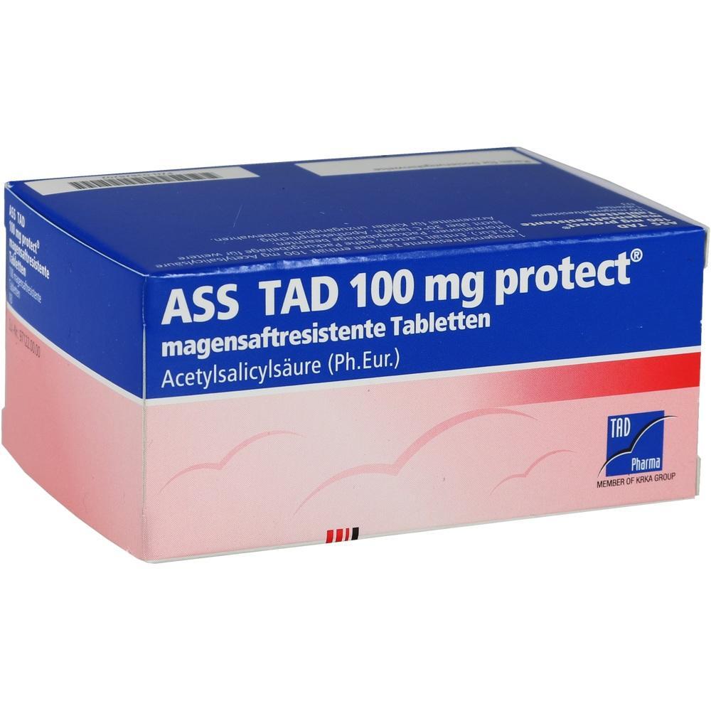 03828202, ASS TAD 100mg protect, 100 ST