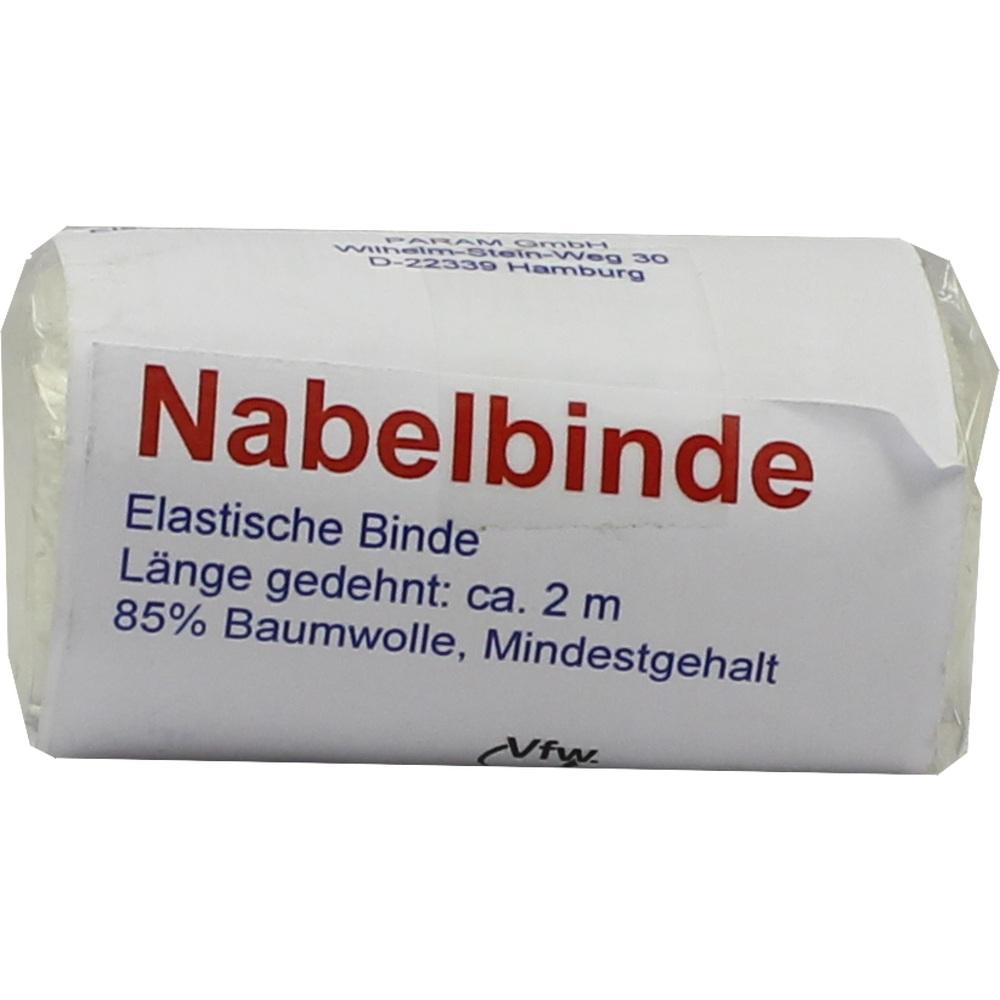 NABELBINDE 6 cm m.Band m.Cellophan