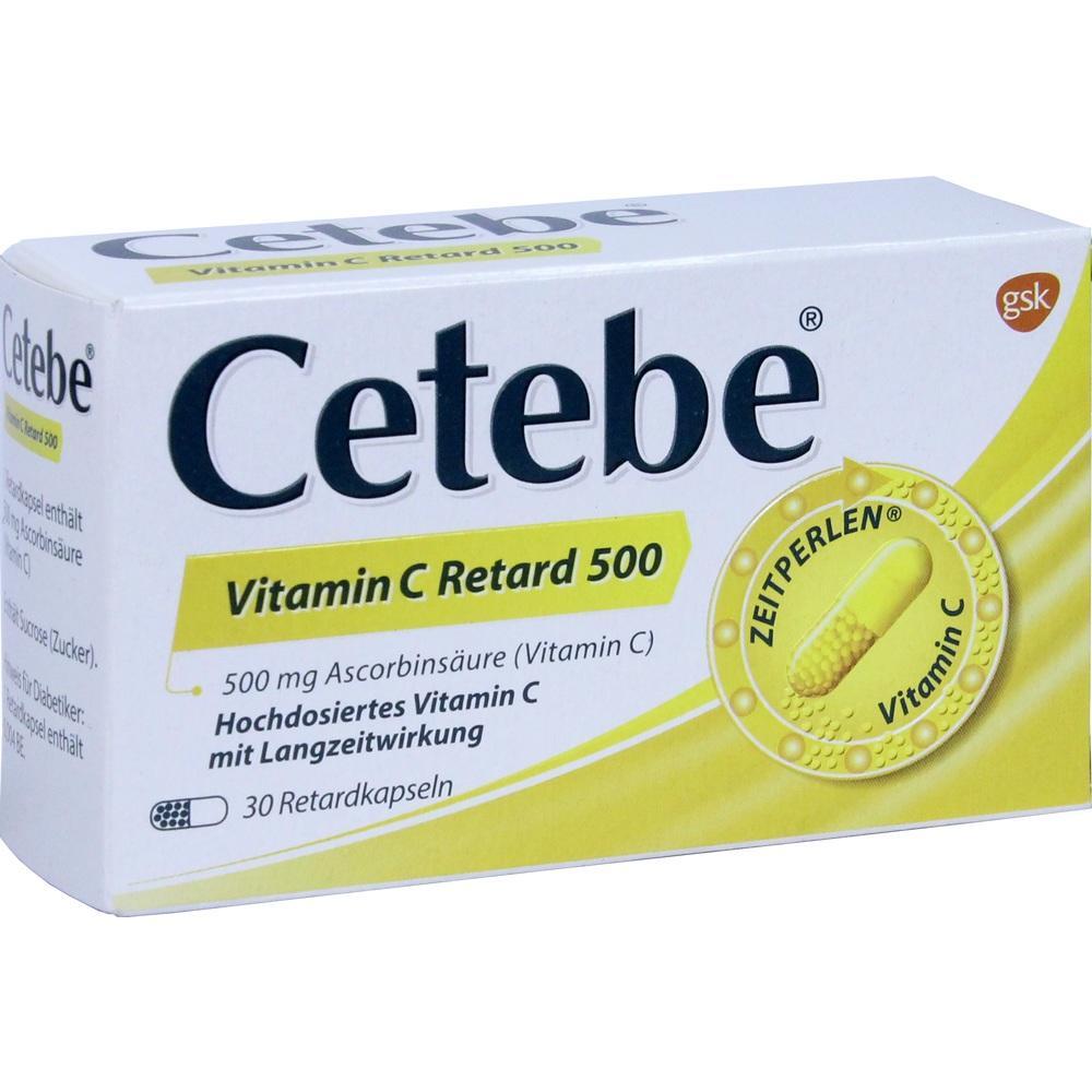 03884264, Cetebe Vitamin C Retard 500, 30 ST