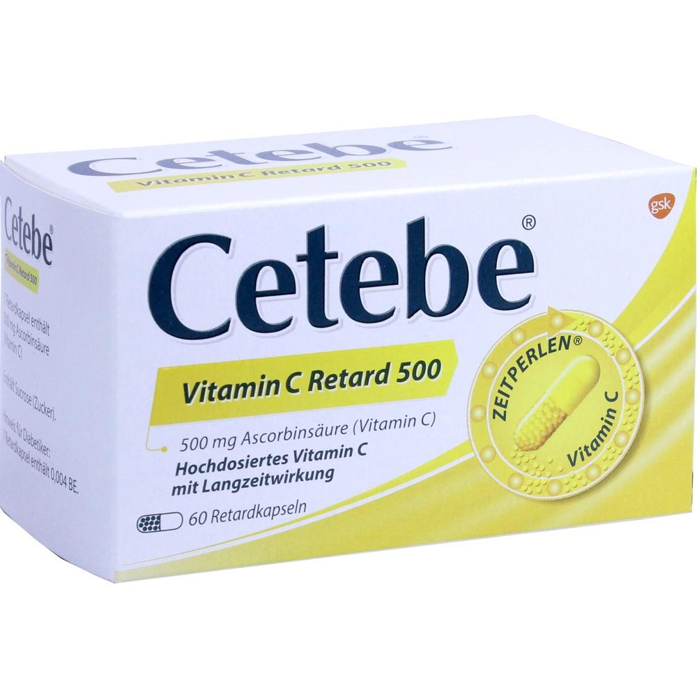 03884287, Cetebe Vitamin C Retard 500, 60 ST