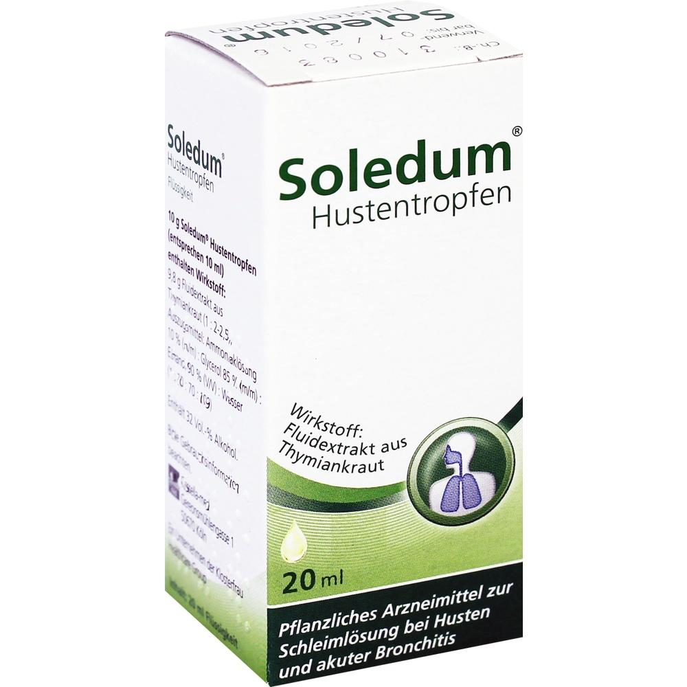 03920089, SOLEDUM HUSTENTROPFEN, 20 ML
