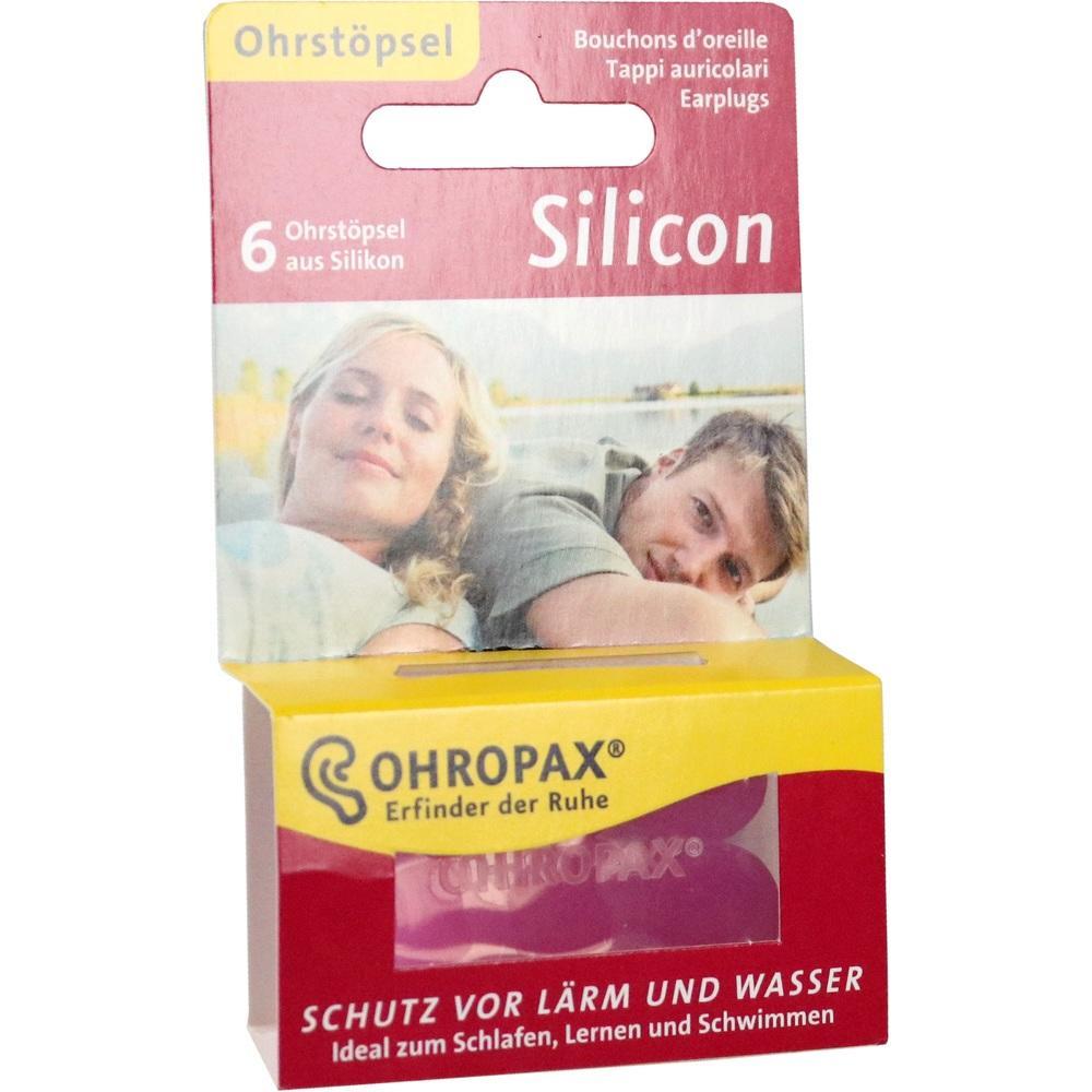 03926844, OHROPAX Silicon Ohrstöpsel, 6 ST
