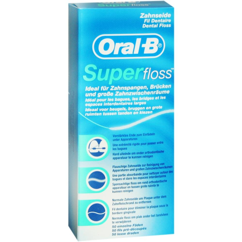 03934341, ORAL-B Zahnseide SuperFloss, 1 ST