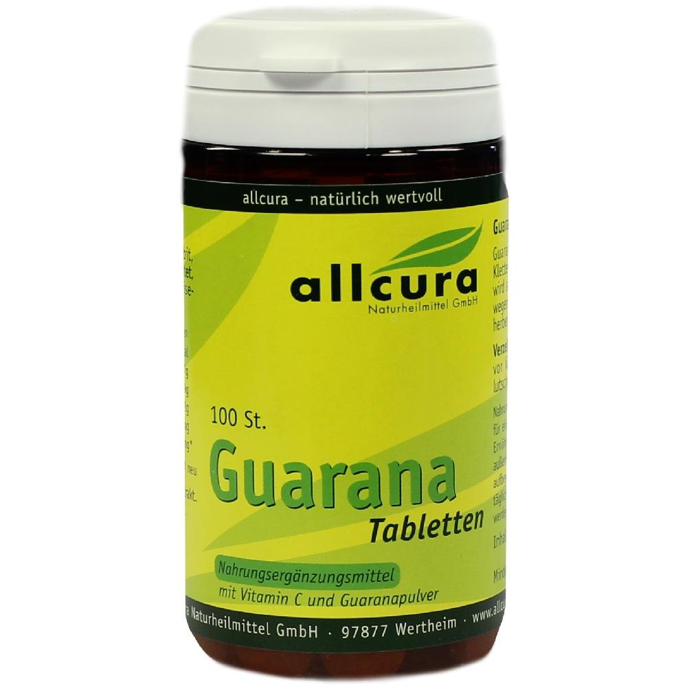 GUARANA TABLETTEN 200 mg Extraktpulver