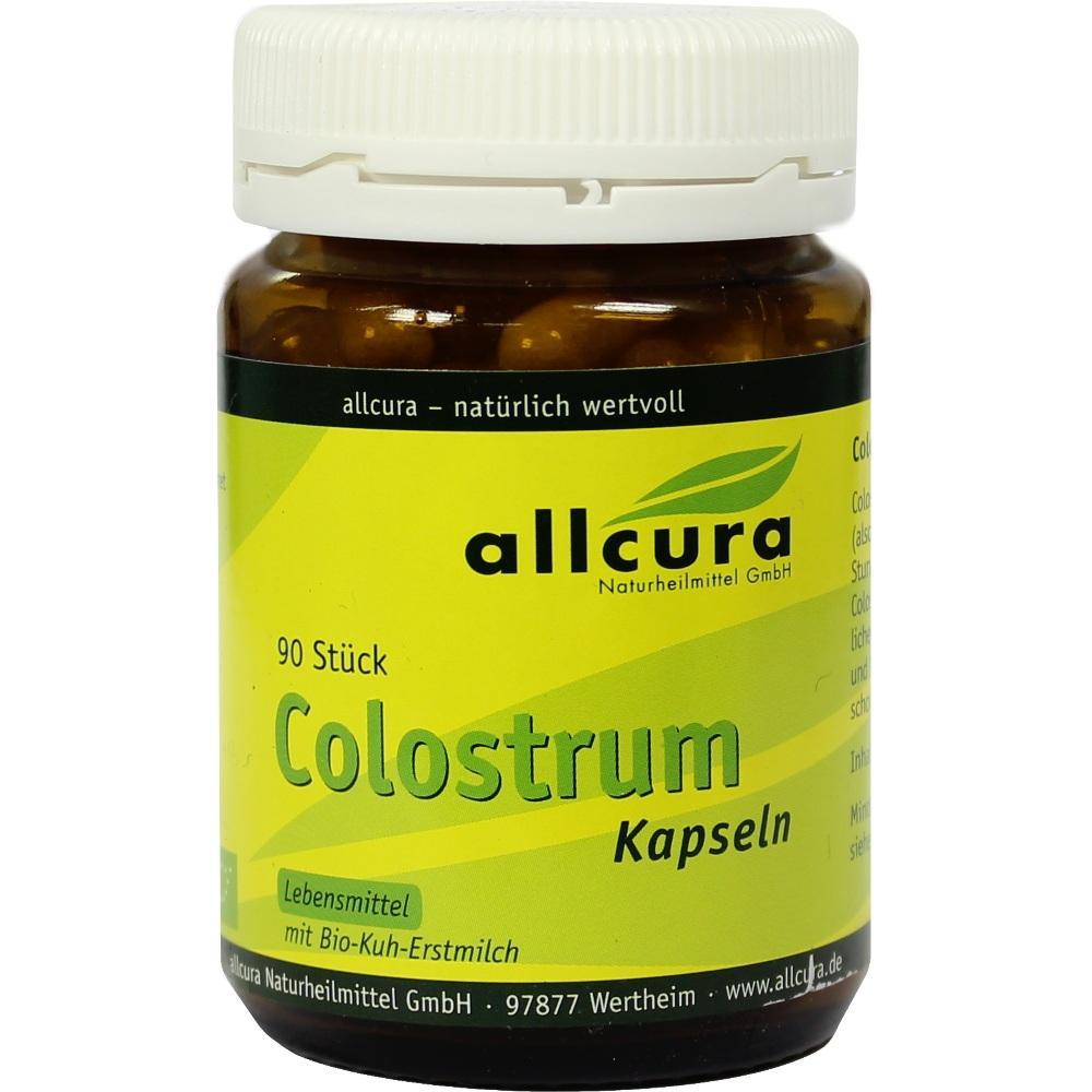 04020749, Colostrum Kapseln 300mg Colostrumpulver, 90 ST