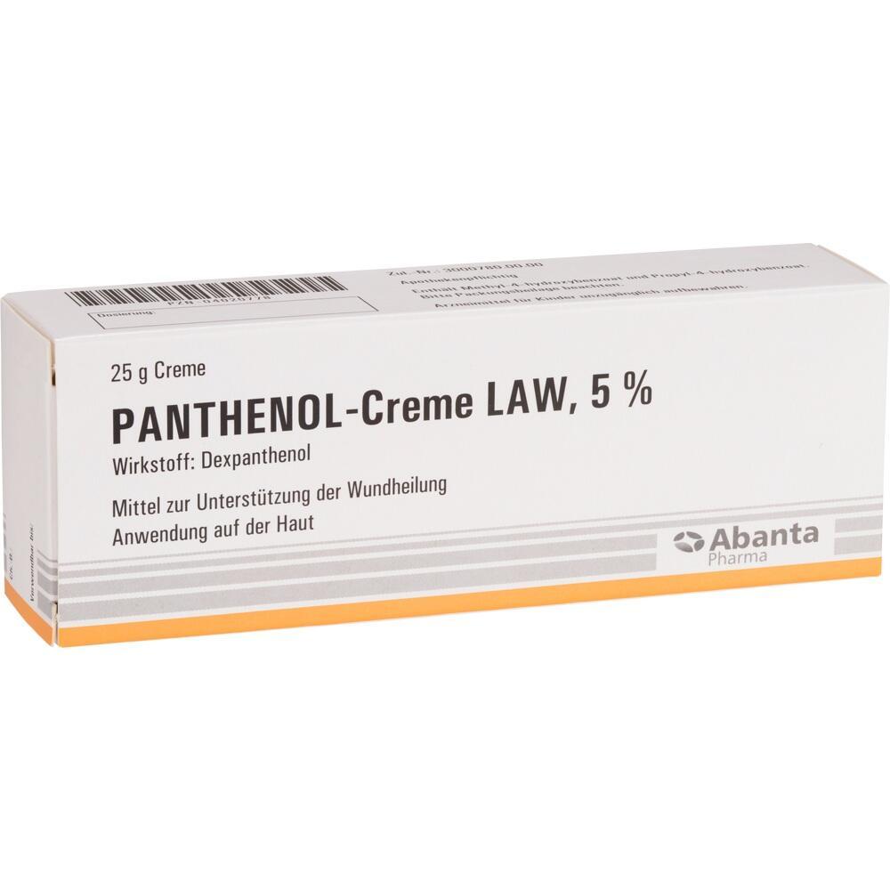 04020778, PANTHENOL-CREME LAW, 25 G