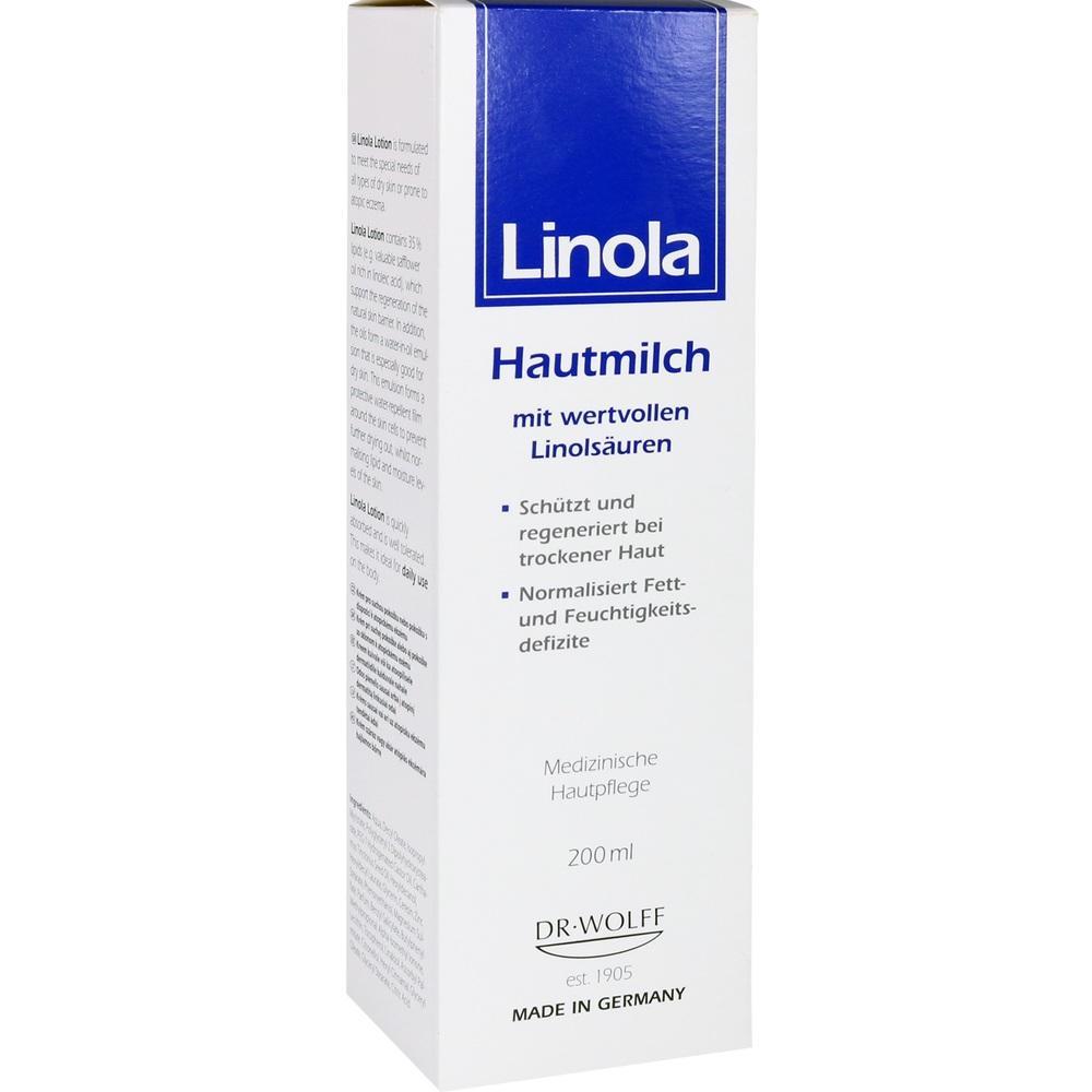 04024782, Linola Hautmilch, 200 ML