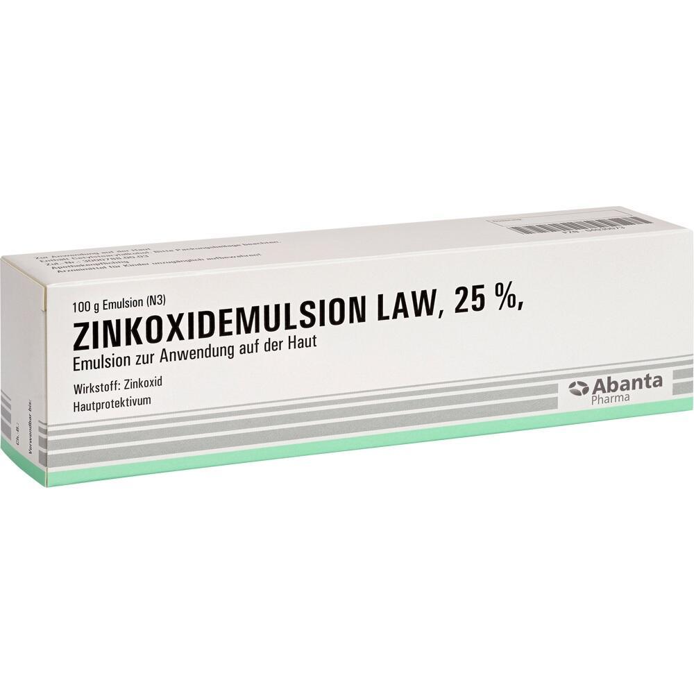 04030073, ZINKOXIDEMULSION LAW, 100 G