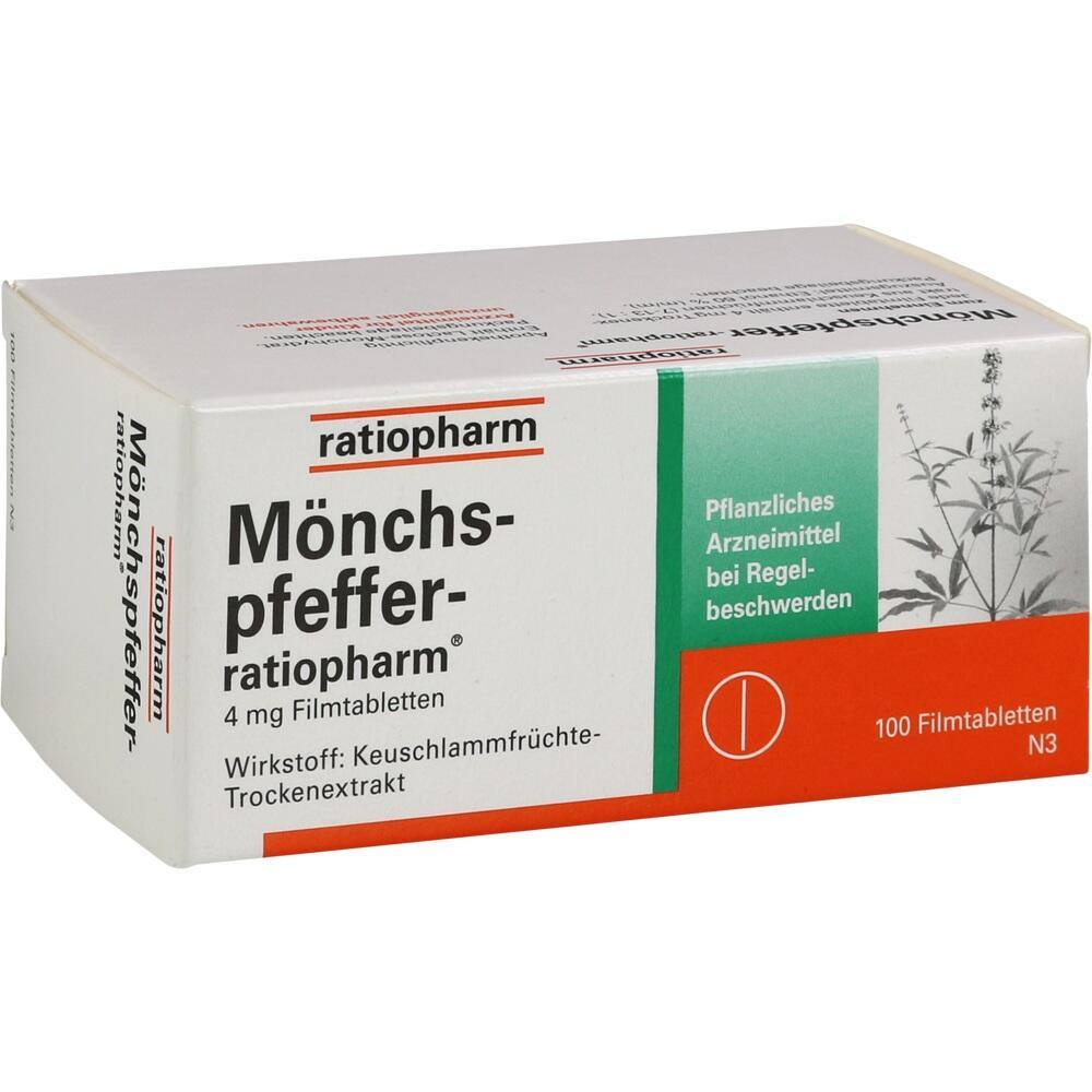 04055624, Mönchspfeffer-ratiopharm, 100 ST