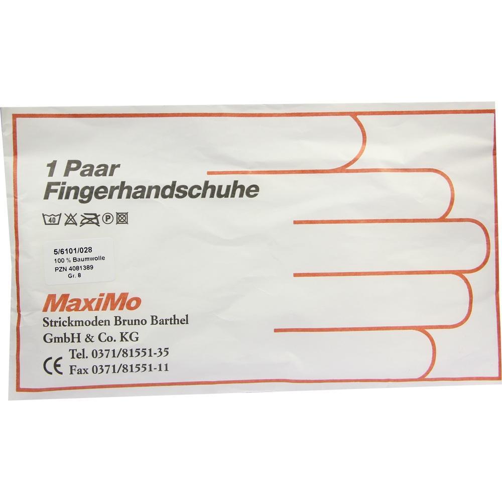 HANDSCHUHE Baumwolle Gr.8 stärk.Material