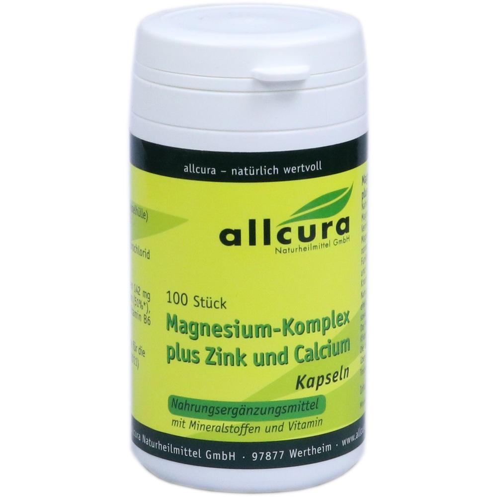 04084896, Magnesium Komplex Kapseln mit Zink+Calcium, 100 ST