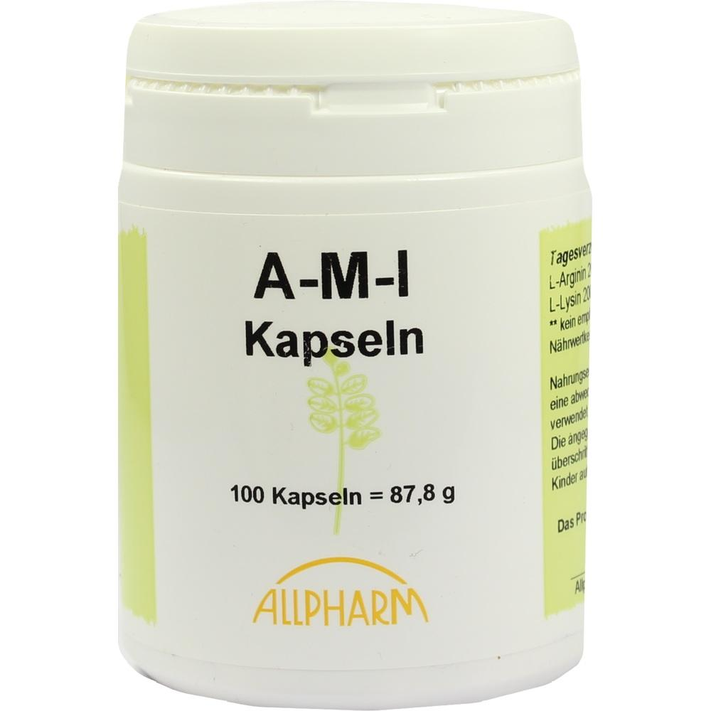 04090187, Aminosäurenkombination AMI Kapseln, 100 ST