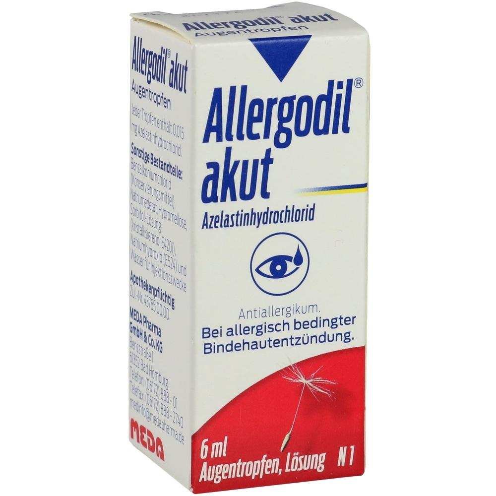04095291, Allergodil akut Augentropfen, 6 ML