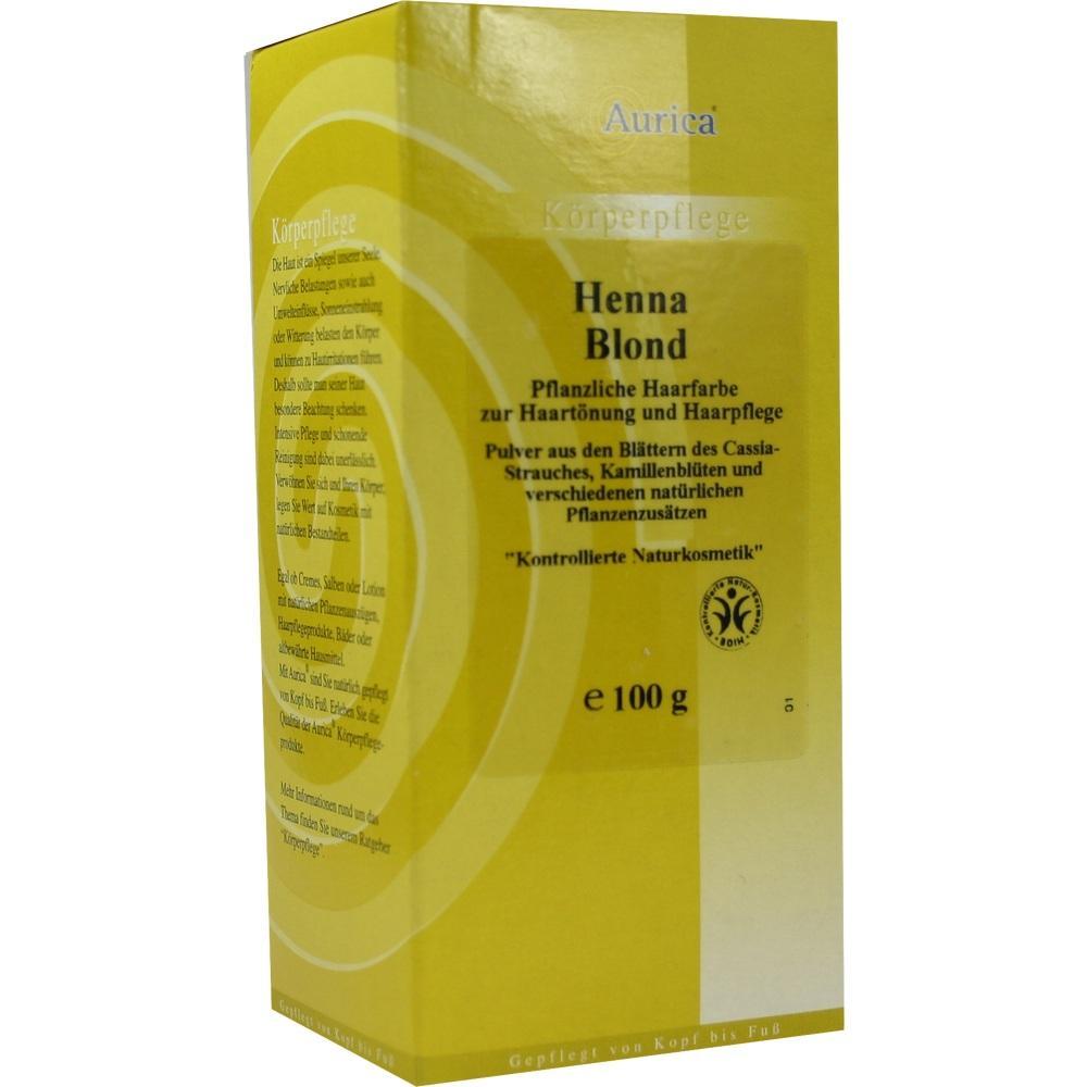 04165643, Henna Blond, 100 G