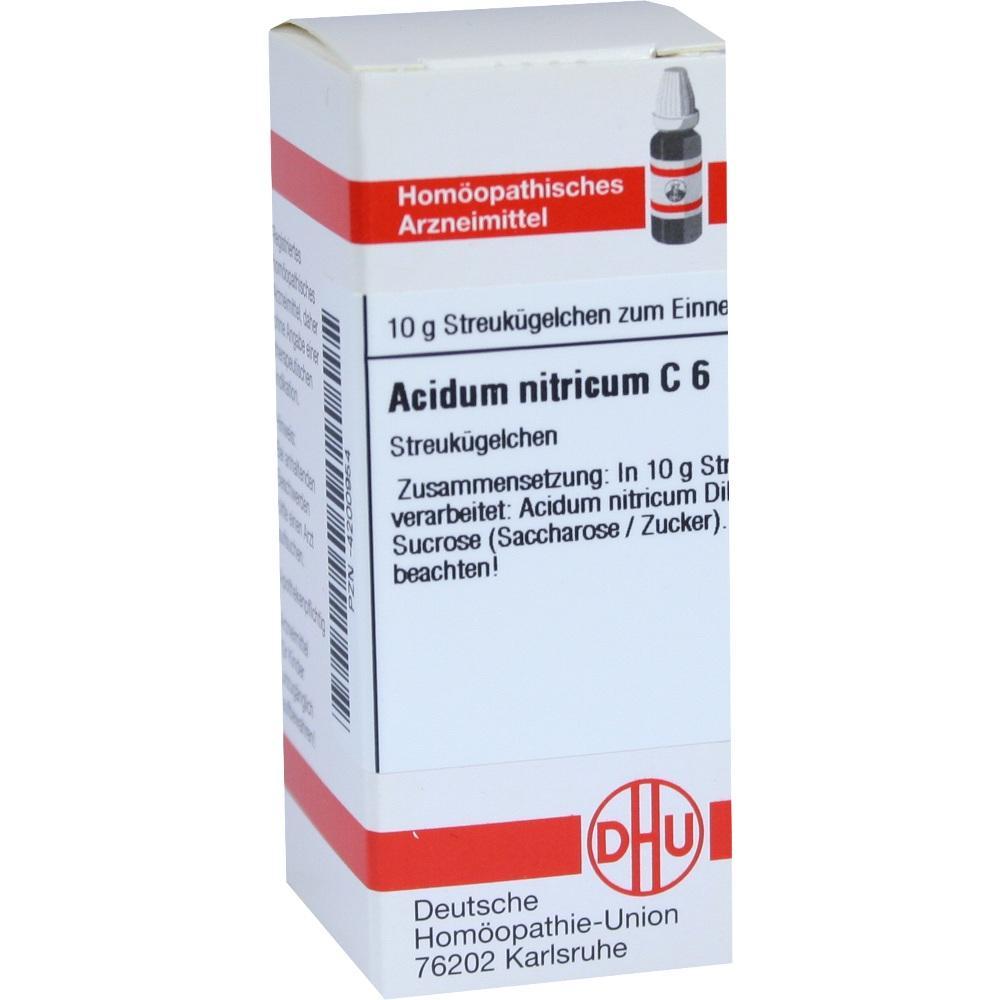 ACIDUM NITRICUM C 6 Globuli