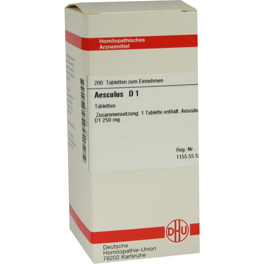 AESCULUS D 1 Tabletten