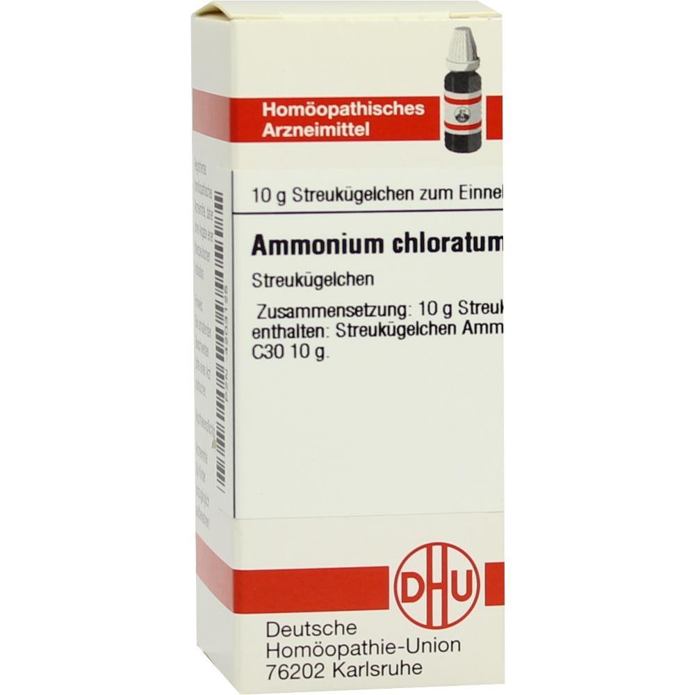 AMMONIUM CHLORATUM C 30 Globuli