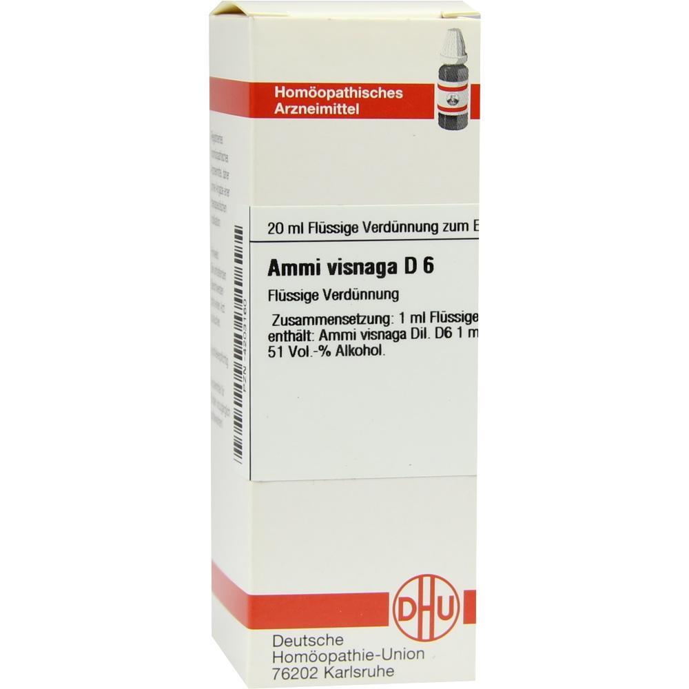 AMMI VISNAGA D 6 Dilution