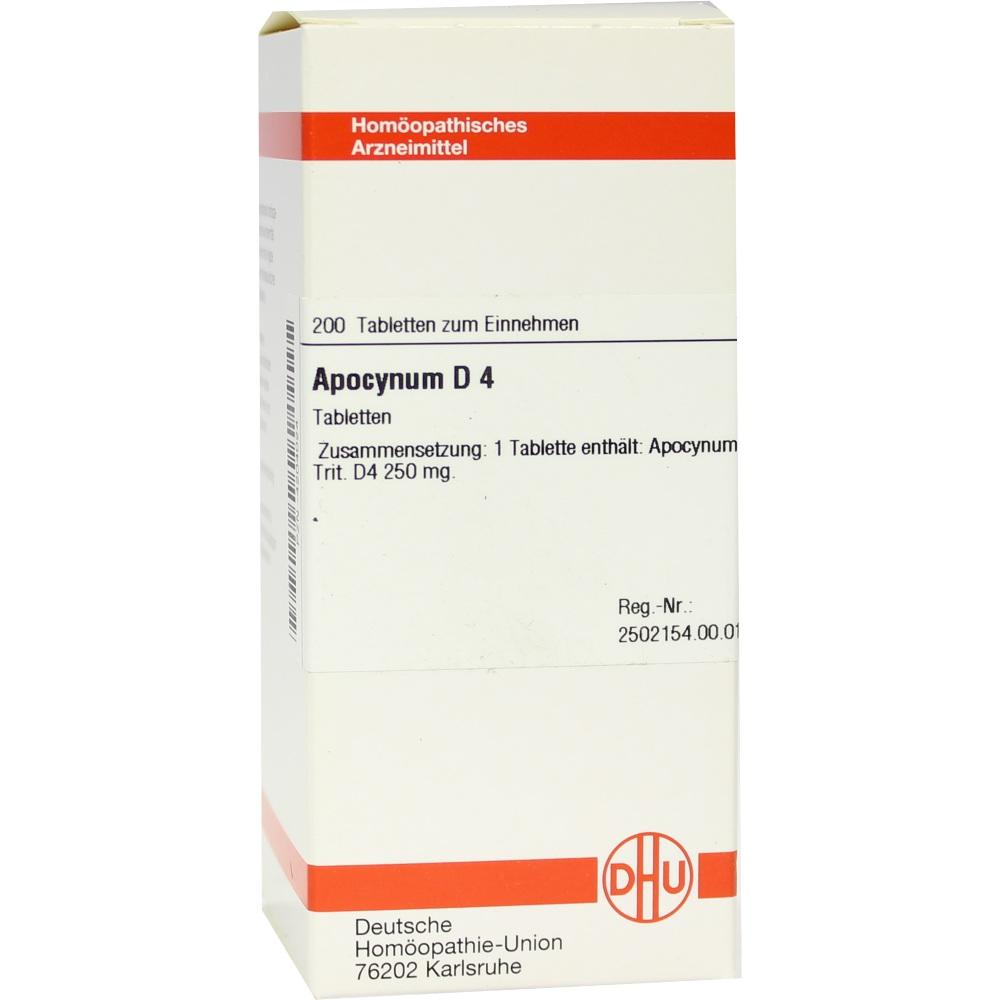 APOCYNUM D 4 Tabletten