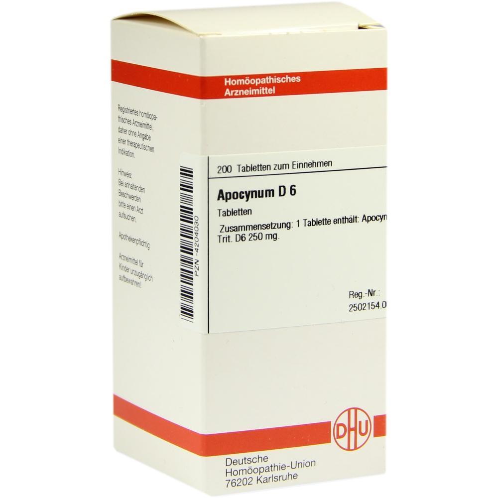 APOCYNUM D 6 Tabletten