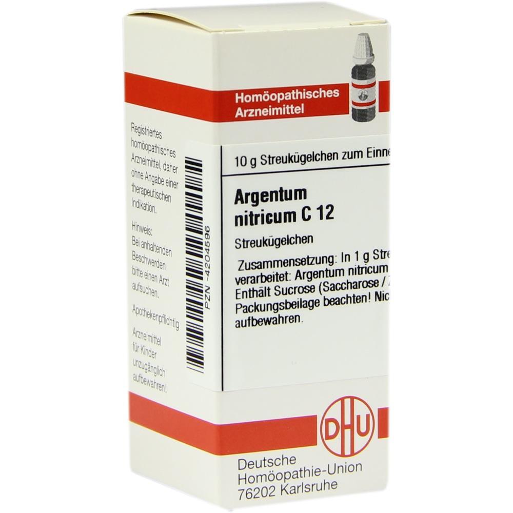 ARGENTUM NITRICUM C 12 Globuli