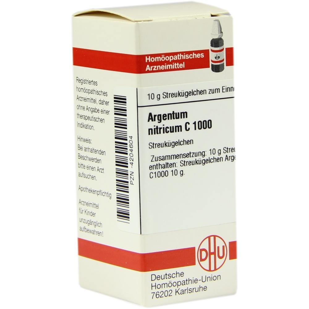 ARGENTUM NITRICUM C 1000 Globuli