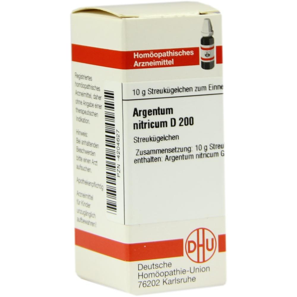 ARGENTUM NITRICUM D 200 Globuli