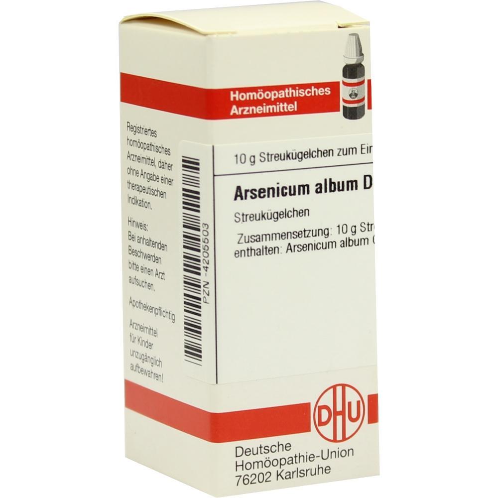 ARSENICUM ALBUM D 60 Globuli