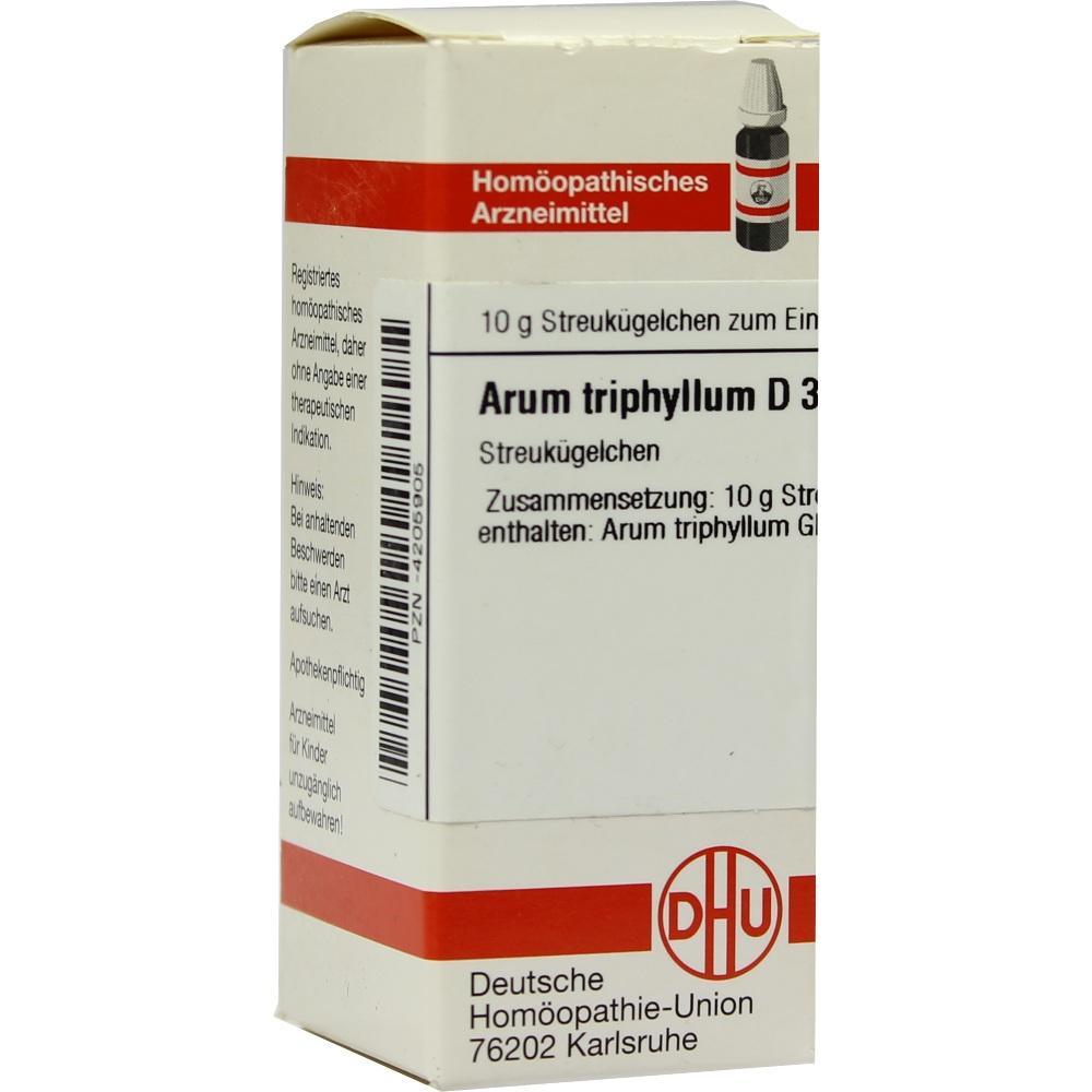 ARUM TRIPHYLLUM D 3 Globuli