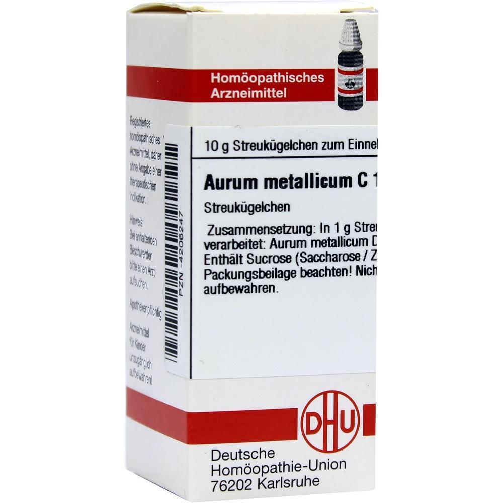 AURUM METALLICUM C 1000 Globuli